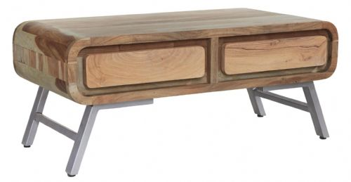 Atlas Coffee Table with 2 Drawers